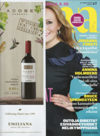 Silk Oil of Morocco Argan Vegan Lipstick -huulipuna, Anna-lehti marraskuu 2016